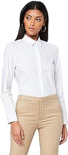 Lacoste Women's Slim Fit Stretch Cotton Poplin Shirt