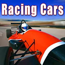 Stock Car Race Green Flag Drops & Cars Speed up with Heavy Roaring Pass By