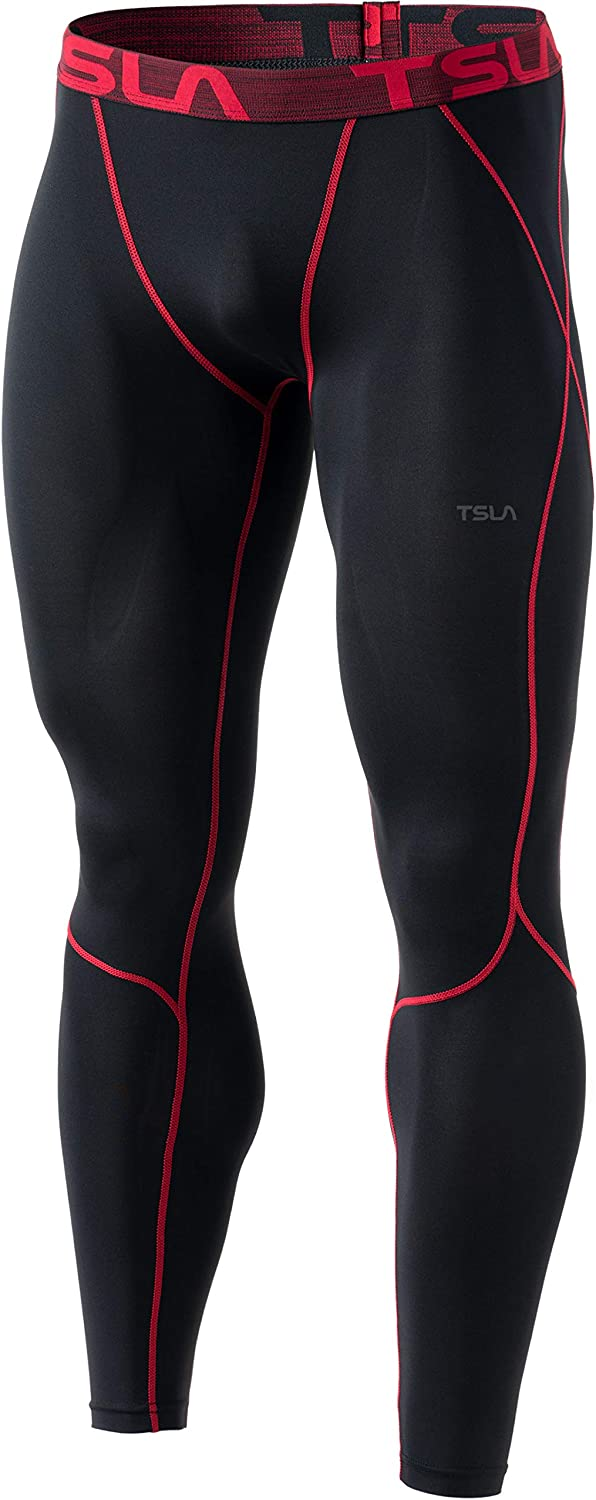 TSLA 1 2 or 3 2021 Super popular specialty store model Pack Men's Cool W Compression Athletic Pants Dry