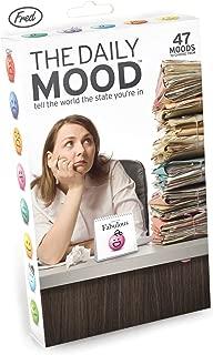 Fred & Friends Daily Mood Desk Flip Chart