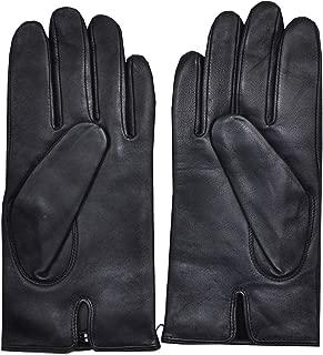 Hugo Boss mens gloves Hainz2 Lambskin 50394157 Dark Blue