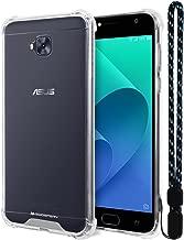 Zenfone 4 Selfie ZD553KL Case, Mercury [Air Cushion] Crystal Clear Hybrid [Protective TPU Cover & Hard PC Back] for Asus Zenfone 4 Selfie ZD553KL, ZF4ZD553KL-CCH