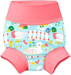 Splash About New and Improved Happy Nappy Swim Diapers (Little Ducks, 2-3 Years)