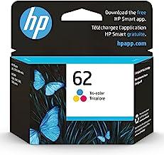 Original HP 62 Tri-color Ink Cartridge | Works with HP ENVY 5540, 5640, 5660, 7640 Series, HP OfficeJet 5740, 8040 Series,...