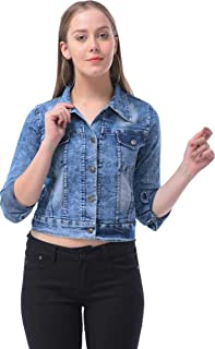 C.Cozami Full Sleeves Solid Women's Denim Jacket
