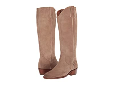 Frye Carson Pull-On (Beige Extended) Cowboy Boots
