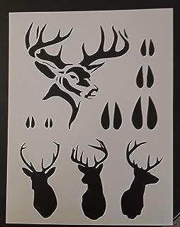 OutletBestSelling Reusable Sturdy Hunting Buck Head Tracks Rack Deer 8.5