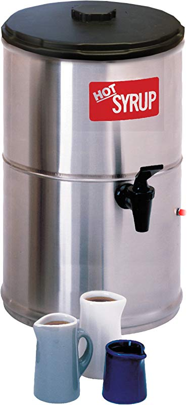 Wilbur Curtis Syrup Warmer 2 0 Gallon Syrup Container Stainless Steel And Temperature Controls SW 2 Each