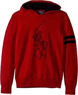 Big Pony Merino Wool Hoodie (Big Kids)