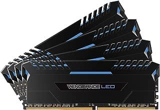 CORSAIR VENGEANCE LED 64GB (4x16GB) DDR4 3000MHz C15 Desktop Memory  - Blue LED