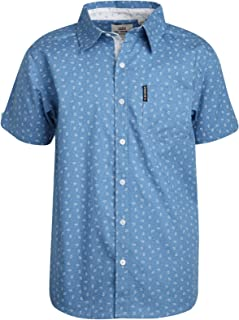 Ben Sherman Boys Short Sleeve Button Down Shirt