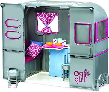 Our Generation Dolls RV Seeing You Doll Camper, 18