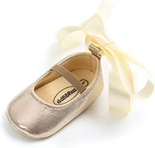 fdb9a74ec520c Baby Girls Ballet Flats Shoes Mary Janes Girl Princess Shoes Gift Birthday  Shoes First Walkers