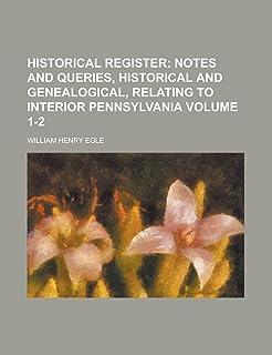 Historical Register Volume 1-2