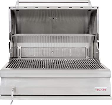 """Blaze Grills 33"""" Built-In Charcoal Grill"""