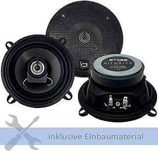 Hifonics Lautsprecher STX 52 300W 130 mm 2 Wege Koax passend für Renault Kangoo (FW/KW) ab 2008 Türen Front