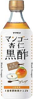 ヤマモリ 砂糖無添加 マンゴー杏仁黒酢 500ml ×6本