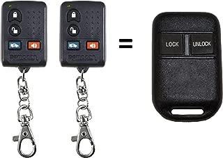 Fits GOH-M24 GOH-MM6-101890 Key Fob Keyless Entry Remote, Set of 2