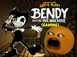 Clip: Annoying Orange Let's Play - Bendy and the Ink Machine (Gaming)