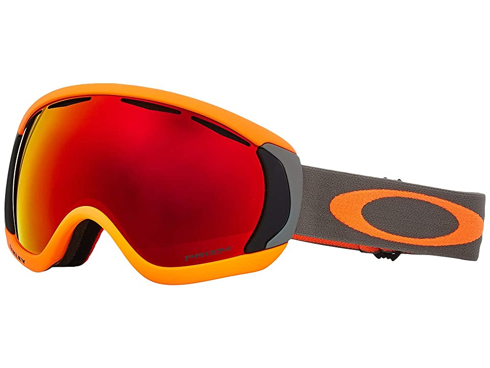 Oakley Canopy (Orange Brush w/ Prizm Torch Iridium) Snow Goggles