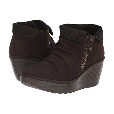FLY LONDON Yoxi755Fly (Chocolate/Olive Cupido/Griffon) Women