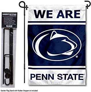 College Flags and Banners Co. Penn State Nittany Lions WE are Garden Flag with Stand Holder