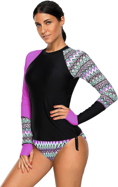 SAILBEE Women's UV Sun Protection 2021 new Wetsuit Rash Sleeve Guard Long security