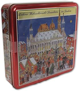 Lambertz Christmas Market Gingerbread Assortment 1.1 Pound/500 g