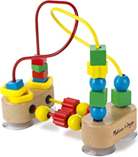 Melissa & Doug First Bead Maze | Developmental Toy | Motor Skills | 3+ |  Boy or Girl