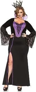 Women's Plus-Size 2 Piece Evil Queen Costume