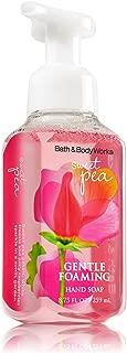 Bath and Body Works Anti-bacterial SWEET PEA Gentle Foaming Hand Soap, 8.75 Fl Oz