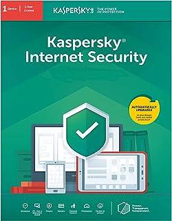 Antivirus Kaspersky Internet Security 2021 1 Dispositivo 1 año Tarjeta de Activacion