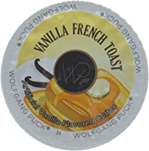 Wolfgang Puck Vanilla French Toast Flavored Coffee Single Serve Cups (24 Count)