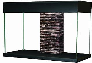 Fluval Kit de Acuario de 95 L, Color Negro y Mesa Acccent