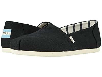TOMS Alpargata CloudBound (Black Heritage Canvas) Women