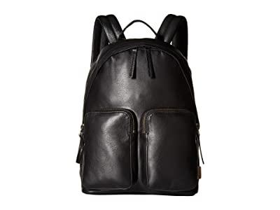 ECCO Casper Small Backpack (Black) Backpack Bags