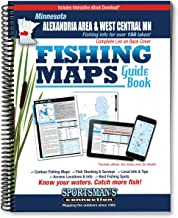 Alexandria Area & West Central Minnesota Fishing Map Guide (Fishing Maps from Sportsman's Connection)