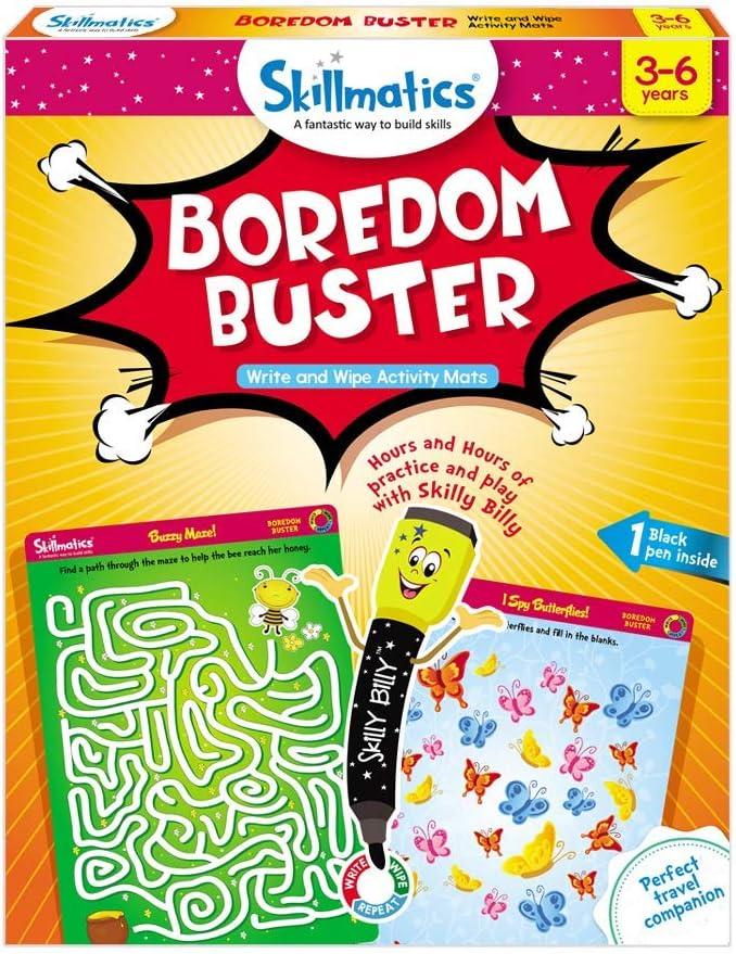 Skillmatics New item Educational Game: Boredom 5 ☆ popular Buster Years 3-6 Erasa