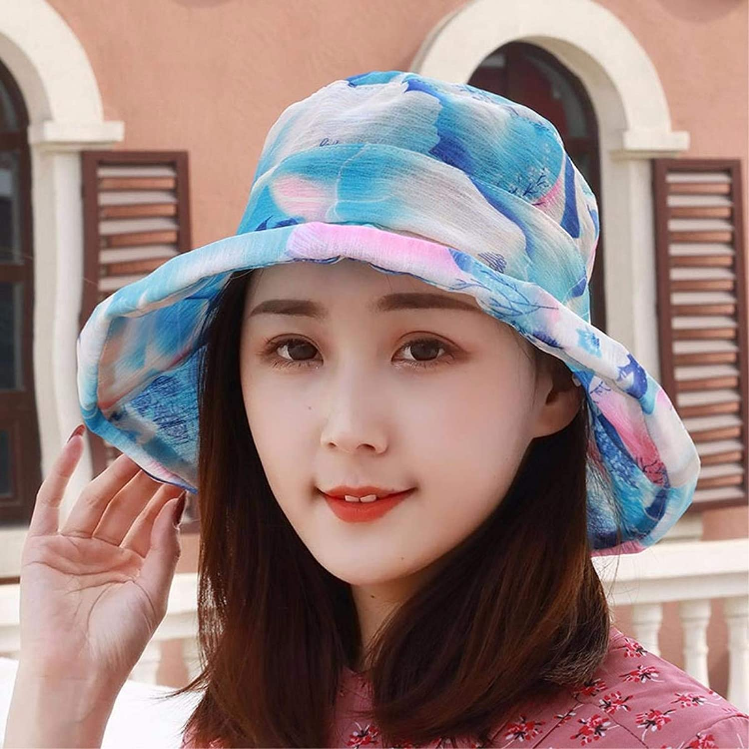 Dingkun Hat the girl and the flip side of the Visor hats sun hat outdoor beach sand basin cap hat Cap