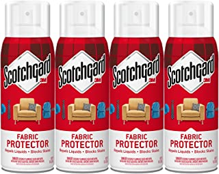 Scotchgard Fabric & Upholstery Protector, 4 Cans/10-Ounces (40 Ounces Total