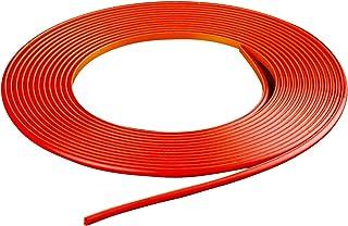 Rojo LIHAO 10M Universal Tiras de Ajuste de Molduras Interiores del Coche
