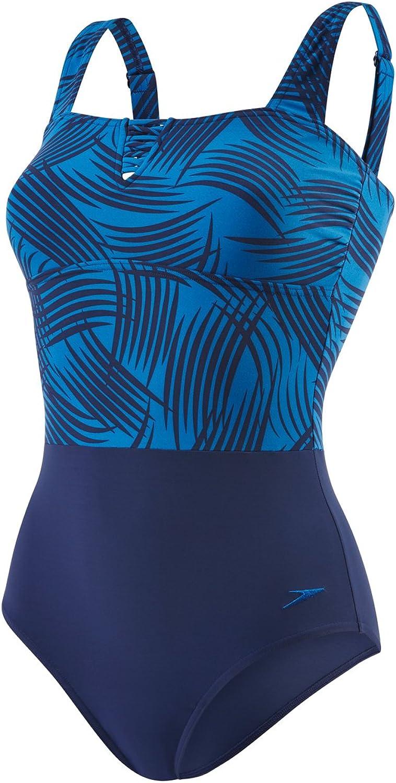 Speedo Speedo Speedo Damen Lunadream Badeanzug mit Print Swimwear B01N5J4LJX  Britisches Temperament 2e6853