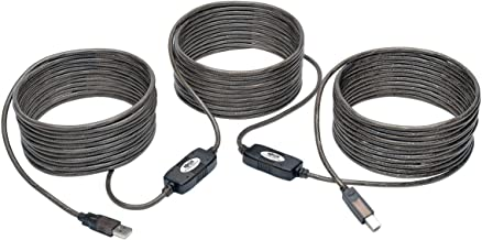 TRIPP LITE USB 2.0 Hi-Speed Active Repeater Cable A/B - M/M 480Mbps, 50' (U042-050)