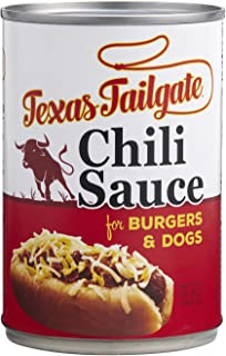 Texas Tailgate Chili Sauce - Mild - 1 case of 12-10 oz cans