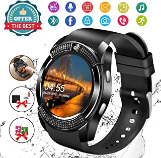 Smart Watch,Android Smartwatch Touch Screen Bluetooth Smart Watch for Android Phones Wrist Phone...
