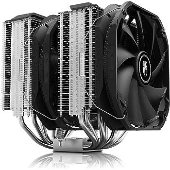 DEEPCOOL Assassin III Air CPU Cooler, 7 Heatpipes, Dual 140mm Fans, 54mm RAM Clearance, 280W TDP, New Sinter Heatpipe Technology, 5-Year Warranty