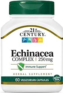 21st Century Echinacea Complex 250 mg, 30 Vegetarian Capsules