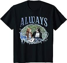 Kids Harry Potter Snape And Lily Always Patronus Portrait T-Shirt