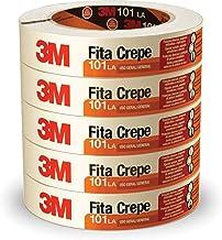 Fita Crepe 3M, Multicor, pacote de 5