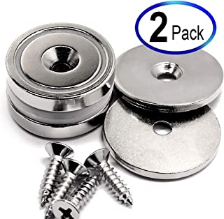 88 LB Super Strong Neodymium Cup Magnets Dia 1.26